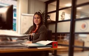 Stagiaire Tanja Adomjan - Wigger Van het Laar Erkend Leerbedrijf